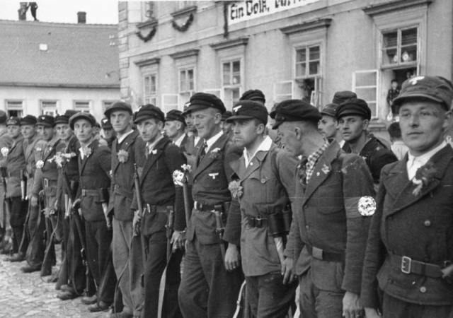 Боевики судето-немецкого фрайкора. 1938