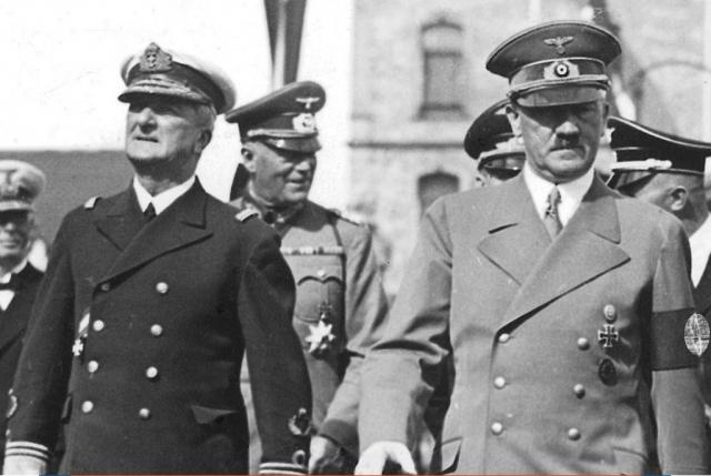 Адольф Гитлер и Миклош Хорти