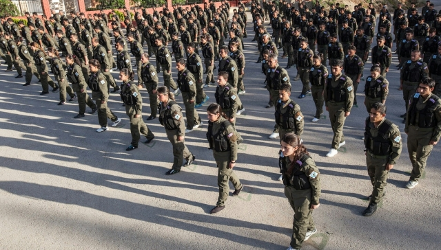 Kурдские бойцы YPG
