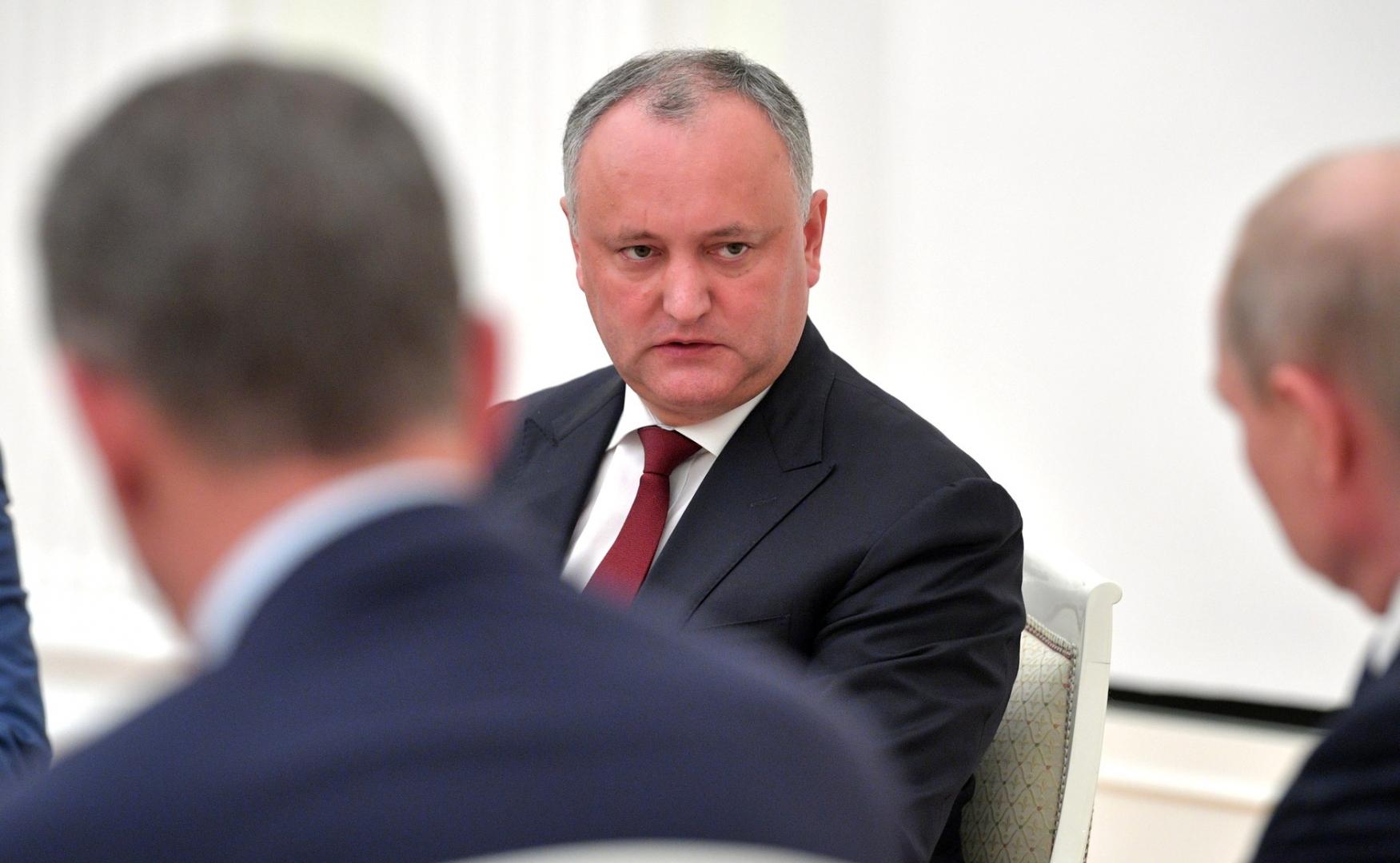 Игорь Додон в Кремле