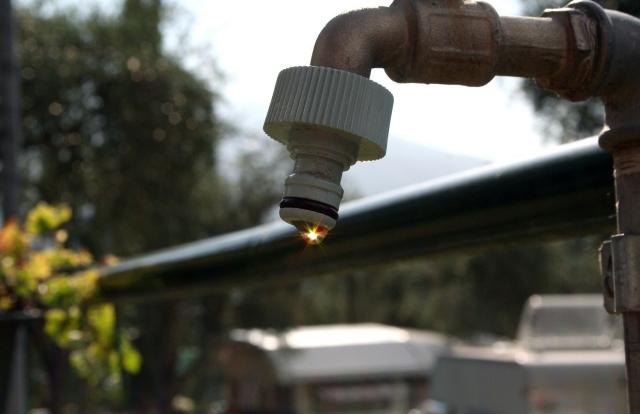 На Южнодонбасском водоводе произошел прорыв трубопровода