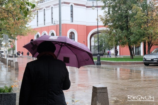 За сутки в Москве выпала почти треть месячной нормы осадков