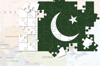 Флаг Пакистана. Ольга Шклярова © ИА REGNUM