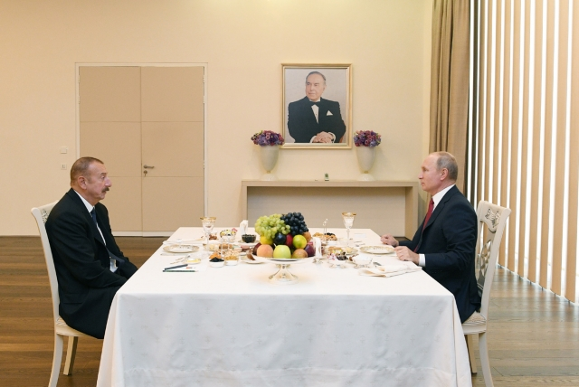 Путин – Алиев: Закавказье по вертикали и горизонтали