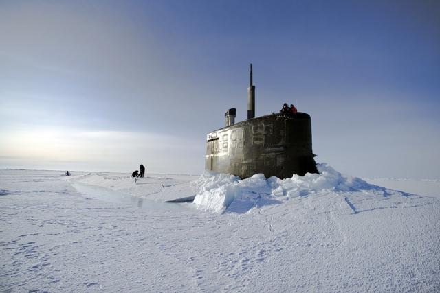 Подводная лодка ВМС США, Северный Ледовитый океан