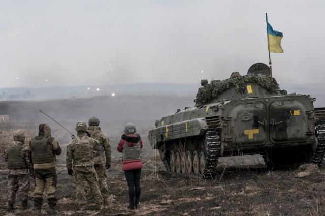 Учения украинской армии