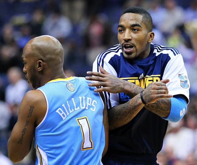 НБА собирается штрафовать игрока Джей Ар Смита за рекламную татуировку