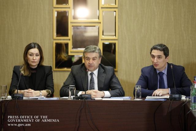 Светлана Чупшева, Карен Карапетян и Александр Хачатурян