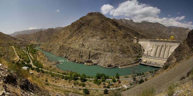Курпсайская ГЭС. Киргизия