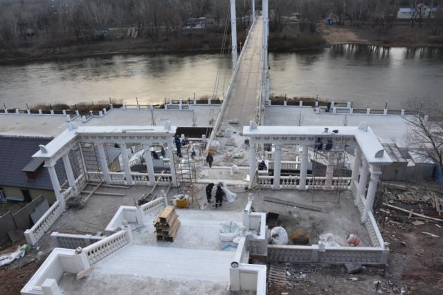Реставрация спуска к реке Урал в Оренбурге