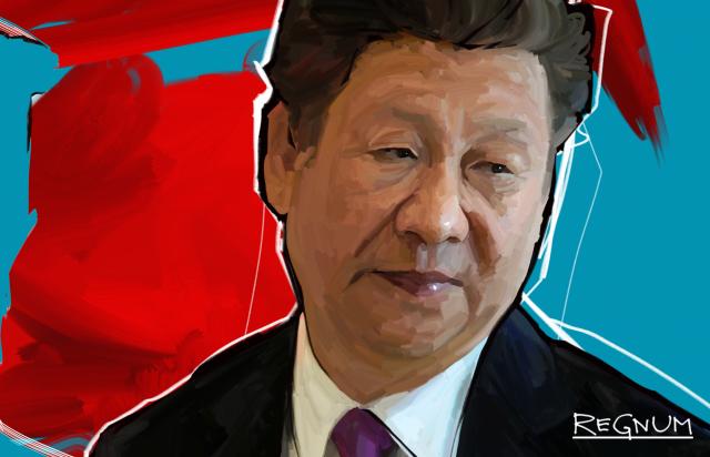 Путин поздравил  Си Цзиньпина с 69-й годовщиной образования КНР