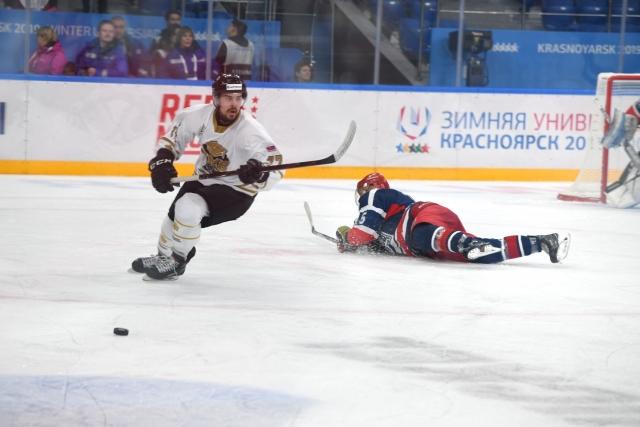 Хоккейный турнир Student Hockey Challenge стартовал в Красноярске