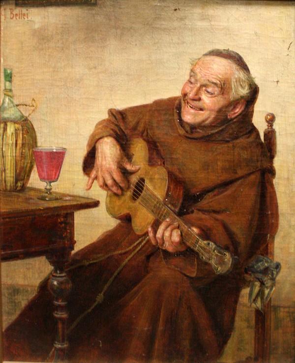 Гаэтано Беллеи (1857-1922). Поющий монах