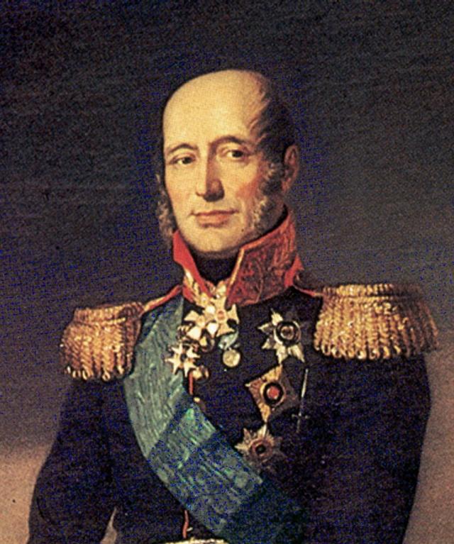 Джордж Доу. Портрет  генерал–фельдмаршала князя М. Б. Барклая де Толли. 1829