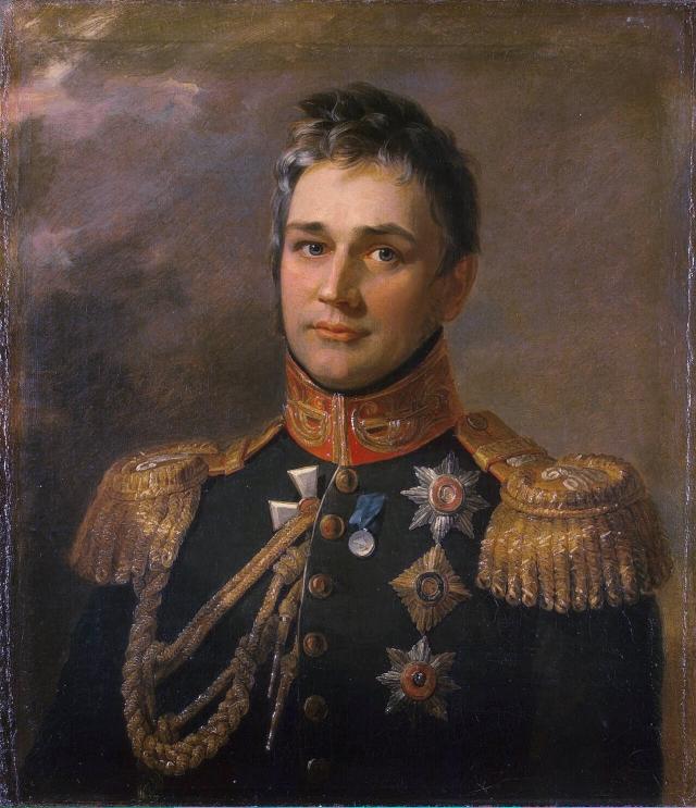 Джордж Доу. Портрет М. С. Воронцова. 1819-1825