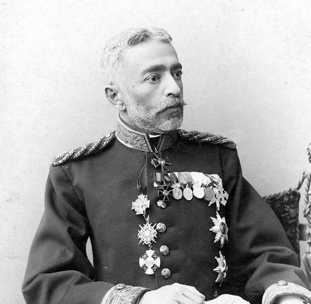 Князь Г. Д. Шервашидзе