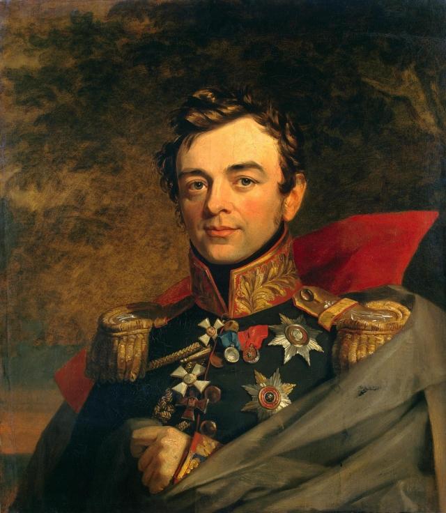 Джордж Доу. Портрет И. Ф. Паскевича. 1823