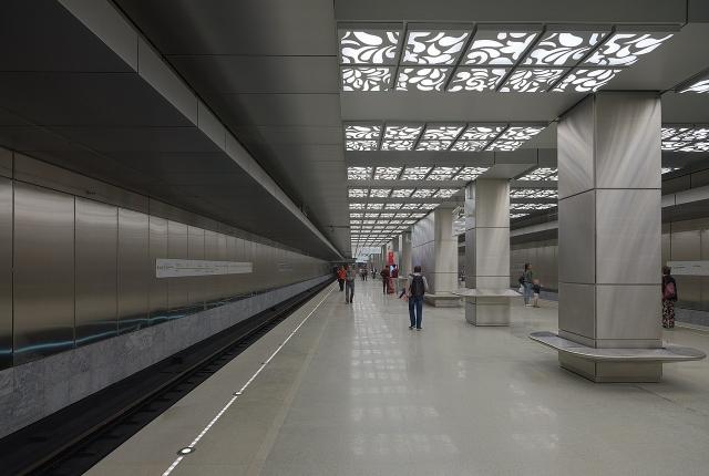 Стала известна самая популярная станция новой ветки московского метро
