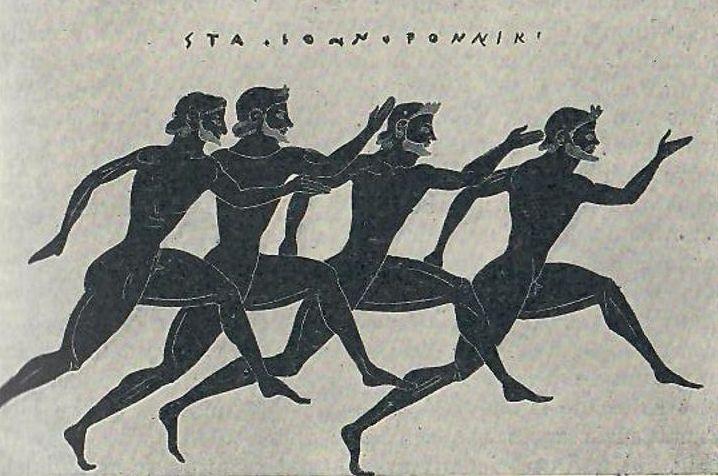Древнегреческие атлеты картинки
