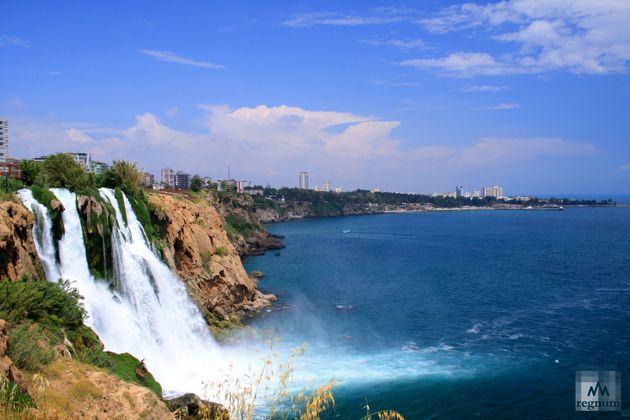 Дюденский водопад. Турция, Анталья