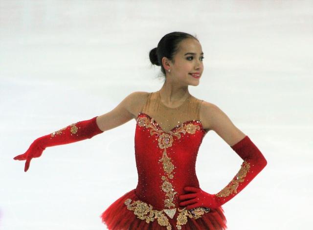 Алина Загитова обновила в Японии мировой рекорд в произвольной программе