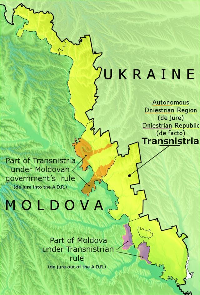 Приднестровье между украинской Сциллой и молдавской Харибдой