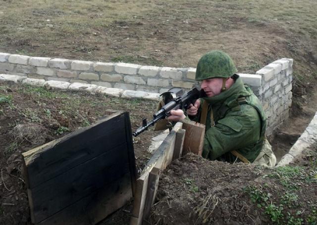 Военнослужащий Оперативной группы российских войск (ОГРВ) в Приднестровье