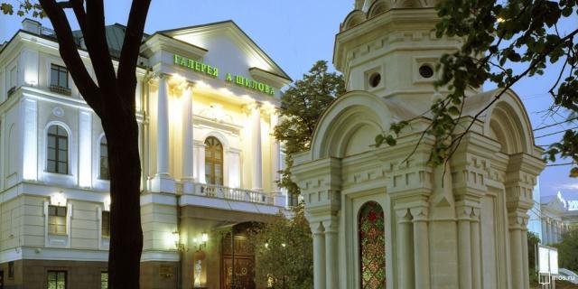 Художника Александра Шилова поздравил с юбилеем мэр города Москвы