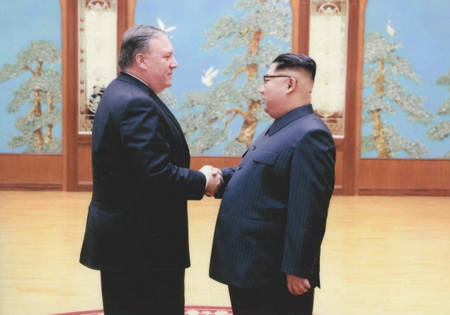 Ким Чен Ын поделился с Помпео надеждами на Трампа