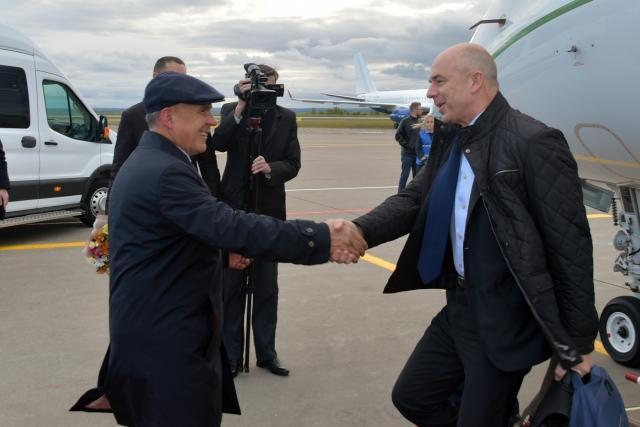 Рустам Минниханов и Антон Силуанов