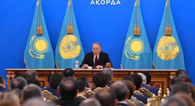Послание Нурсултана Назарбаева народу Казахстана. 2018