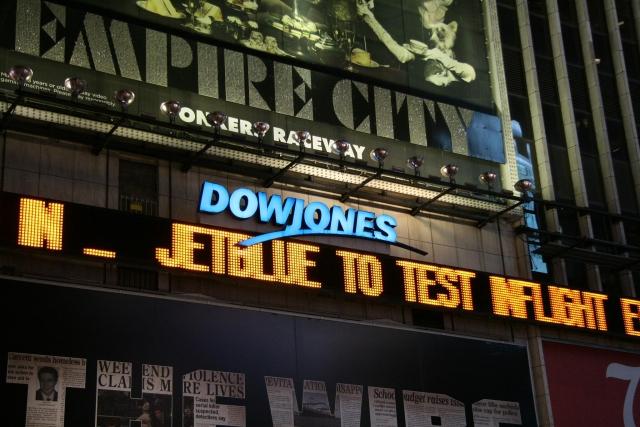 Фондовый рынок США начал неделю в «красной зоне»