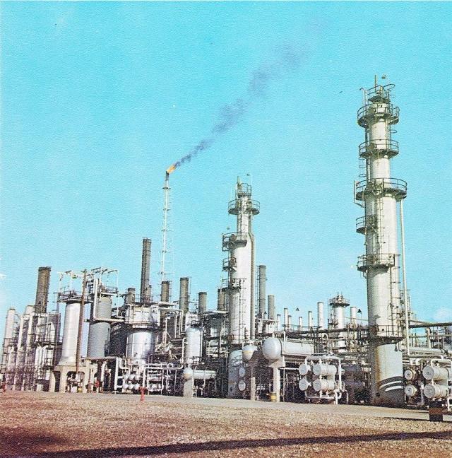 Нефтеперерабатывающий завод в Абадане, Иран