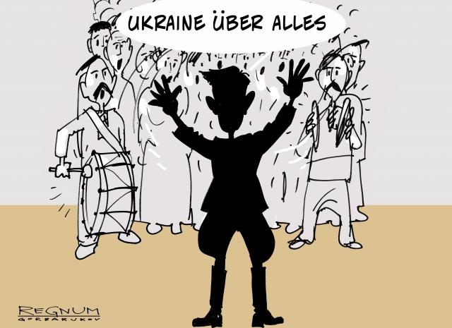 Украинские депутаты в ПАСЕ окружили российскую журналистку и стали скакать