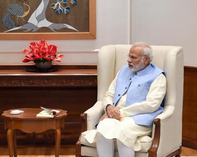 Премьер-министр Индии Нарендра Моди получил награду ООН «Чемпион Земли»