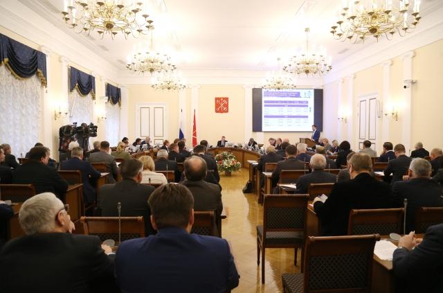 Заседание правительства Санкт-Петербурга