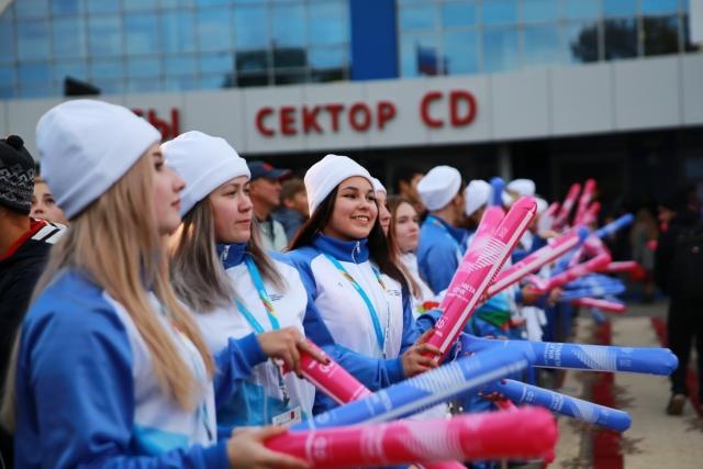 Путешествие огня зимней Универсиады-2019 продолжилось в Ульяновске