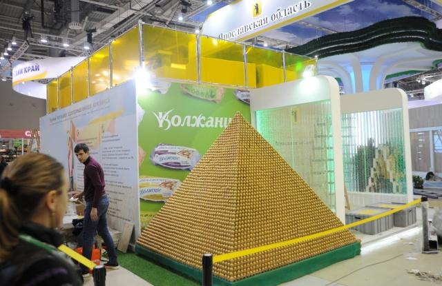 Пирамида из ярославских яиц вошла в Книгу рекордов Гиннесса