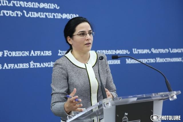 МИД Армении предлагает авторам материалов, основанных на «источниках», связаться с ведомством и проверить их достоверность