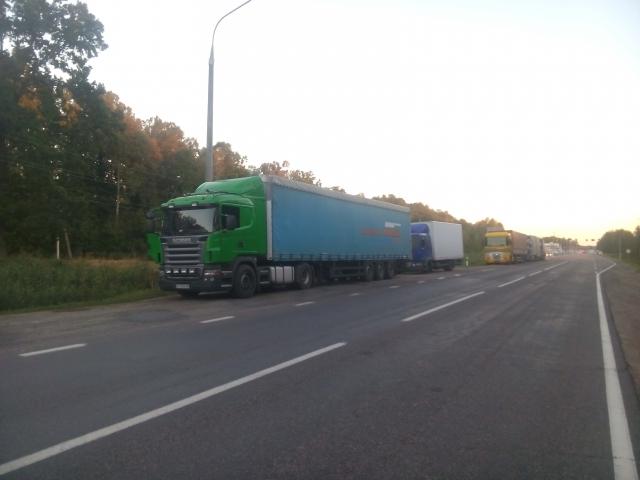 На границе Украины и Белоруссии