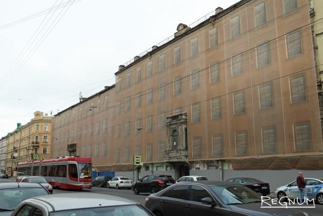 Мариинский театр выполнил противоаварийные работы в доме Лермонтова