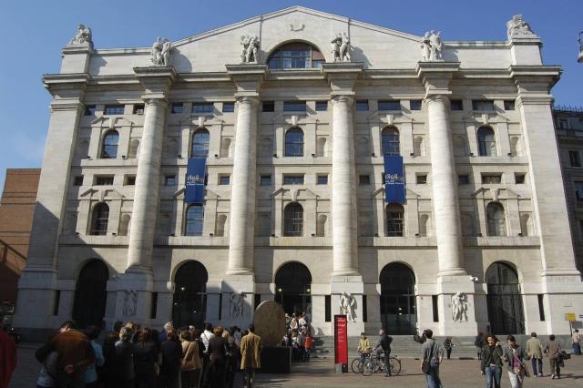 Здание итальянской фондовой биржи