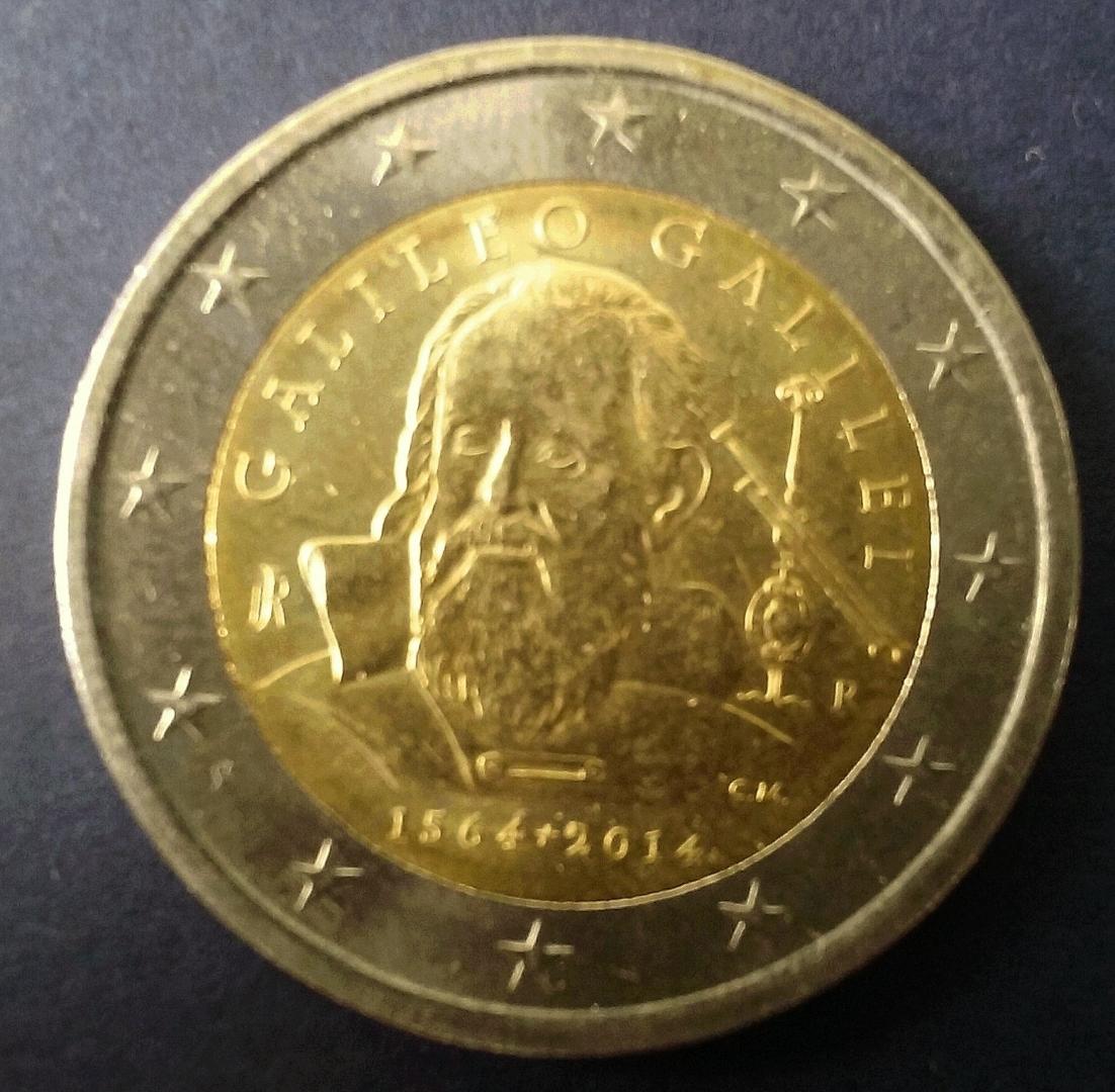 Итальянская монета евро