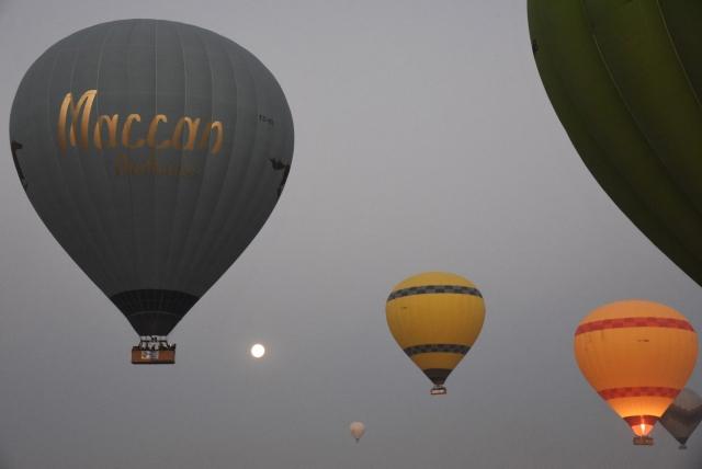 Поднимется ли шар в воздух, полностью зависит от прогноза погоды. Полёты на воздушных шарах над Каппадокией отменяются при скорости ветра от 15 км в час, при дожде или тумане