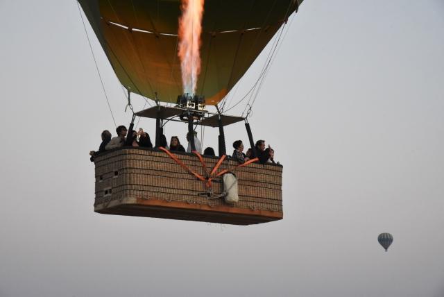 Стандартная воздушная корзина вмещает до 20 человек