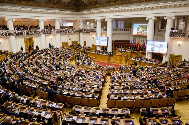 Пленарное заседание Межпарламентской ассамблеи СНГ