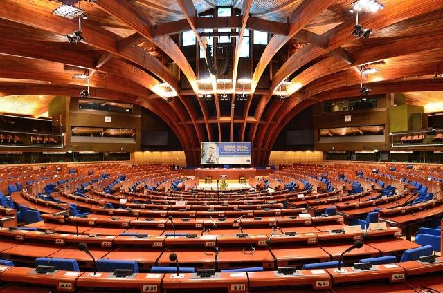 Зал пленарных заседаний ПАСЕ