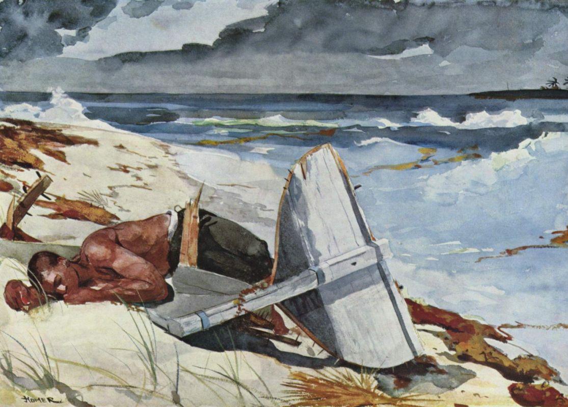 Уинслоу Хомер. После урагана. 1899