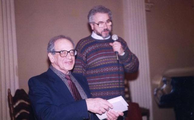 С Ефимом Григорьевичем 1999