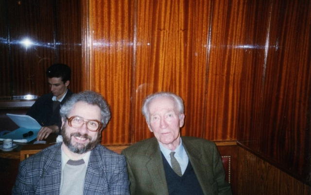 С писателем Клодом Руа